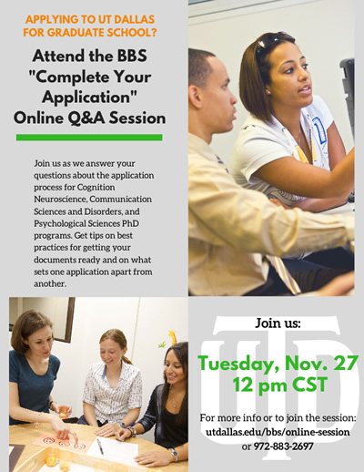 BBS PhD Programs Online Q&A Session