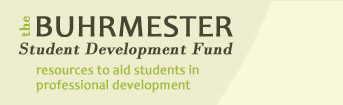 Buhrmester Student Development Fund