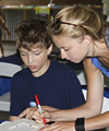 Children with Cochlea Implants Come Together at Callier Camp