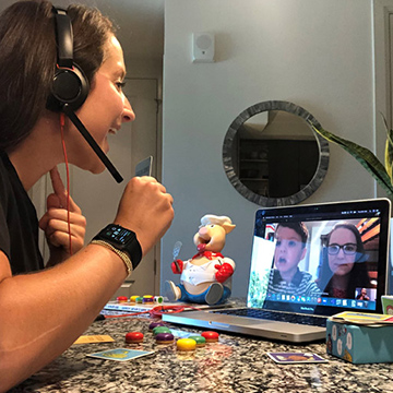 Telehealth Adds Needed Touch to Callier Center's Care, Clinical Training