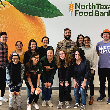 Students Develop Recipe To Help North Texas Food Bank During COVID-19 Outbreak